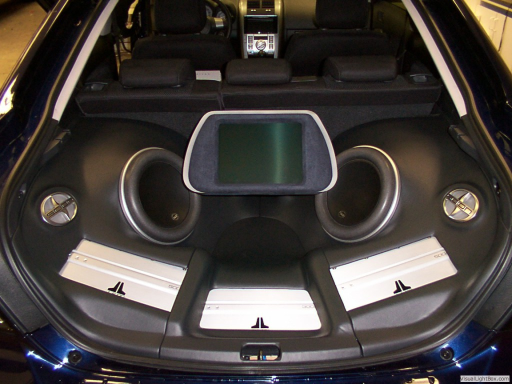 Services Soundproof Custom Car Audio Stereos Window
